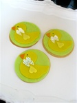 Decorated Rubber Duckie Cookie Favor