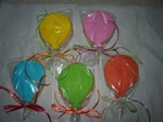Decorated Balloon Birthday Cookies