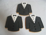 Decorated Tuxedo Cookie