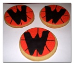 High School Wildcats Cookie