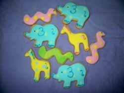 Baby Safari Cookies
