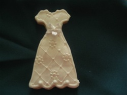 Decorated Bridesmaid Dress Cookies