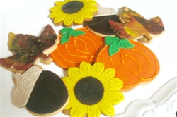 Decorated Fall Cookie Gift Box