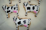 Decorated Cow Cookie