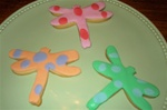 Decorated Dragon Fly Cookie