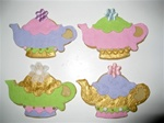 Decorated Teapot Cookie