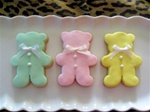 Teddy Bear Baby Cookie Gift Box