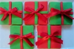 Holidlay Present Cookie Gift Box