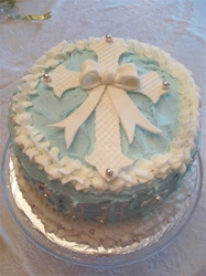 Our Decorative Specialty Cakes are four layers of the most moist Cake of your choice and filled with your desired Home Made frosting.  We bake the cake with fresh whole gourmet ingredients and to order.    We have Home Made Chocolate Butter Cream, Vanilla