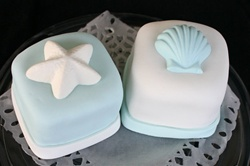 Mini Shell Cake Sample